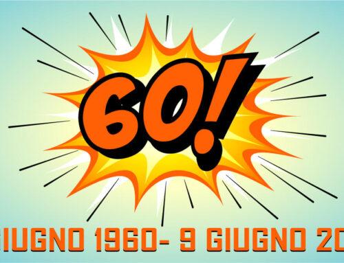 Compiere 60 anni in tempi di Coronavirus